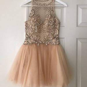 🔥LIGHT PINK HOMECOMING DRESS🔥 / pageant dress